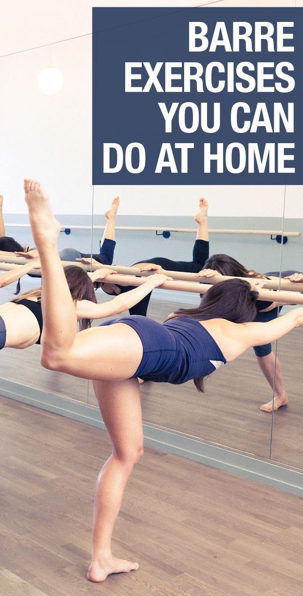 Barre exercises you can do in your living room