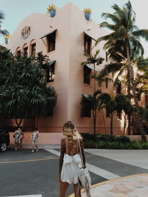 Oh wishing i was there | Miami vice pink palm trees life travel fun |
