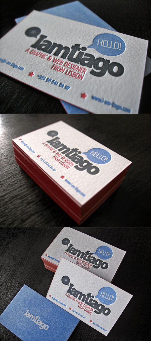 I am Tiago #business #card #businesscard #business_card