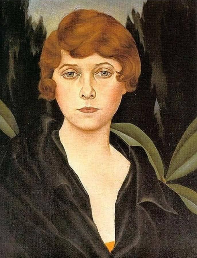 1926 - Portrait Of An English Lady - By Christian Schad (1894-1982) - German Dada Movement - New Objectivity