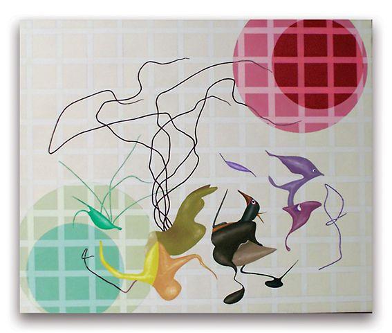 2001- Crop, acrilici su tela, cm  50x60