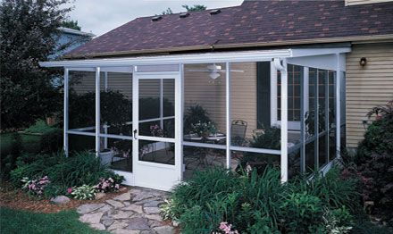 Best 25 champion sunrooms ideas on pinterest four for Screen room addition plans
