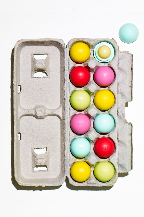Who knew the Easter Bunny was a beauty buff? Skip the eggs with a scavenger hunt for Eos lip balm. This idea makes gathering a dozen so much more delightful.