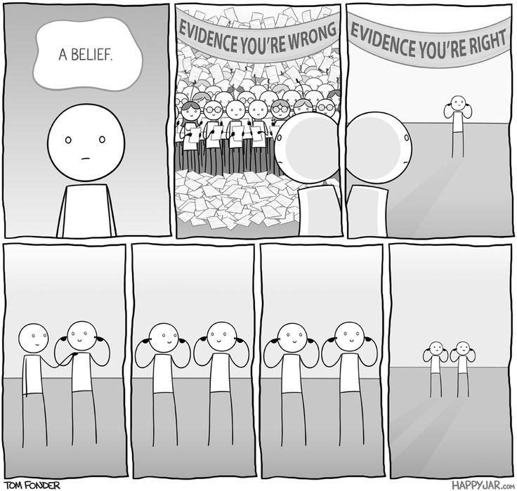 Kết quả hình ảnh cho confirmation bias politics