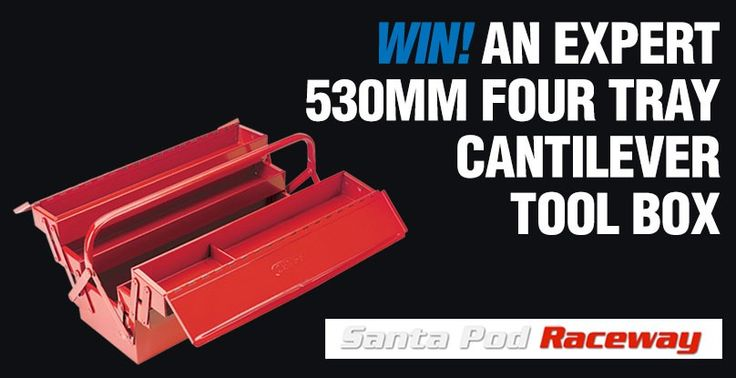WIN! AN EXPERT 530MM FOUR TRAY CANTILEVER TOOL BOX!