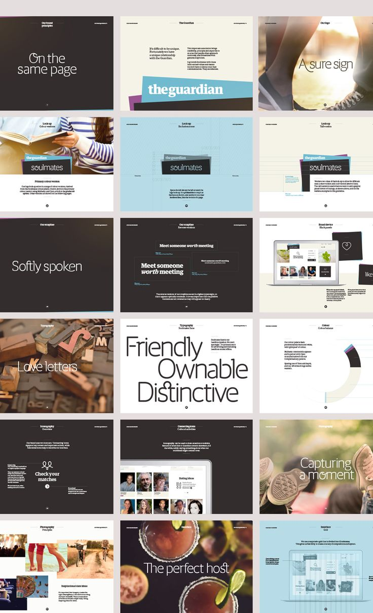Soulmates brand guidelines, by Multiadaptor