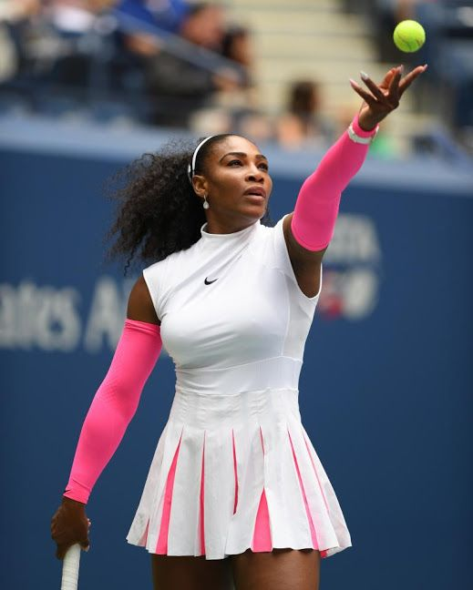 Serena Williams Balances Fashion Week With U.S. Open ... How She Does It (EXCLUSIVE)  hollywoodtake.com