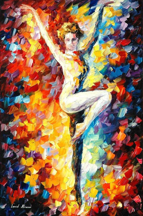Refinement Palette Knife Oil Painting On
