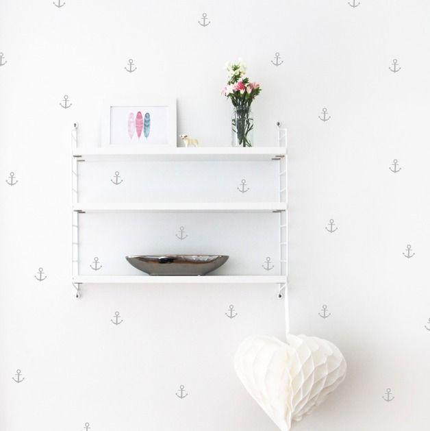 Wandtattoo - Wandsticker / Anker - ein Designerstück von Ellavue bei DaWanda