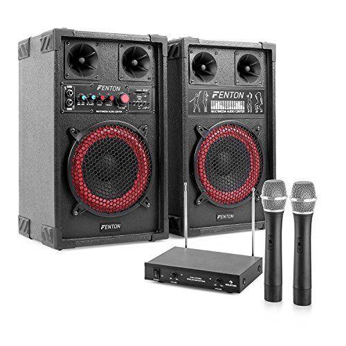 awesome STAR-Mitte Equipo de karaoke altavoces PA con micrófonos (400W potencia maxima, reproductor MP3 desde puerto USB - SD, incluye micros inalambricos con receptor) Mas info: http://comprargangas.com/producto/star-mitte-equipo-de-karaoke-altavoces-pa-con-microfonos-400w-potencia-maxima-reproductor-mp3-desde-puerto-usb-sd-incluye-micros-inalambricos-con-receptor/