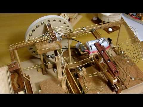 Quad Marble Machine Youtube Marble Machine Pinterest