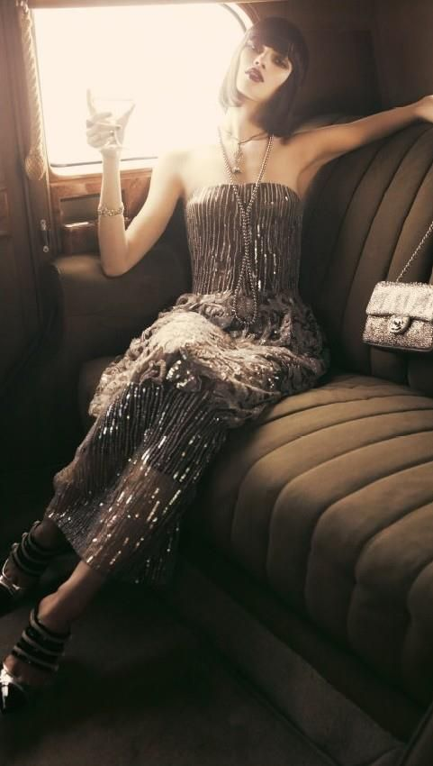 Rolls-Royce 'Jazz Age' shoot for Elle.