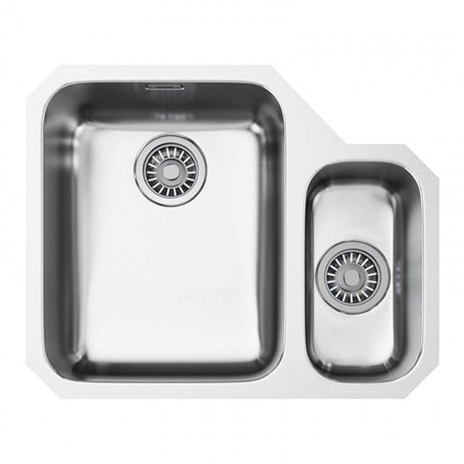 Franke Ariane ARX 160 Undermount 1.0 Bowl Kitchen Sink Stainless Steel - ARX 160 - Banyo.co.uk
