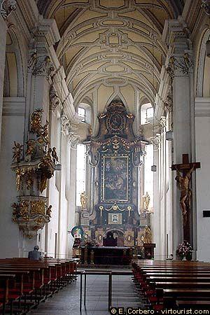 Ceske Budejovice, St. Nichola's Church