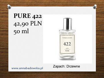 Perfumy PURE 422 damskie drzewne