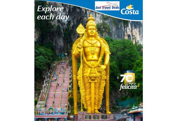 Costa Cruise Destinations: Singapore, Thailand and Malaysia!