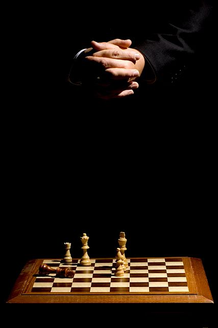 Satan Chess   Devil Plays Chess by sir_bazz - DPChallenge