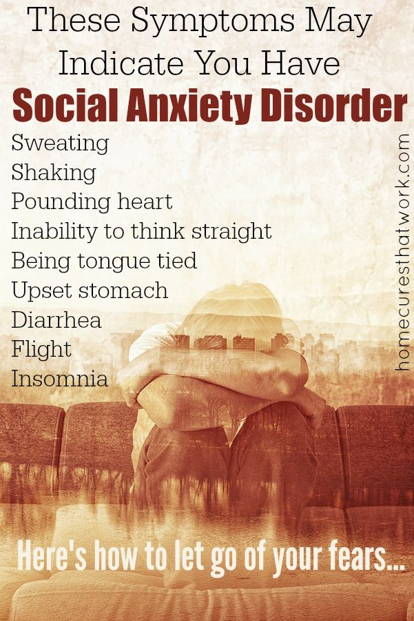the different manifestations of social anxiety disorder Culture and the anxiety disorders: recommendations  different presentations of the same disorder  disorder the definition of social anxiety.