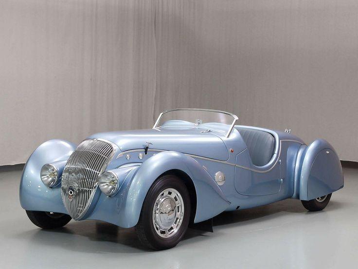 1937 Peugeot Cabriolet.