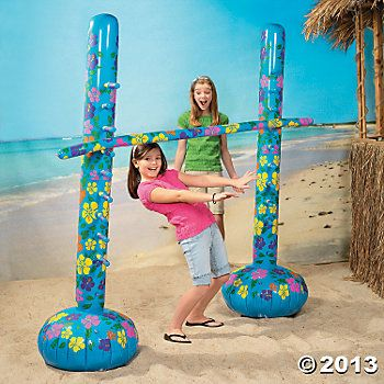 Inflatable Limbo Game Kit -- Good Heavens!!  Where has this been all my life?!!