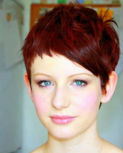 sexy short hairstyle