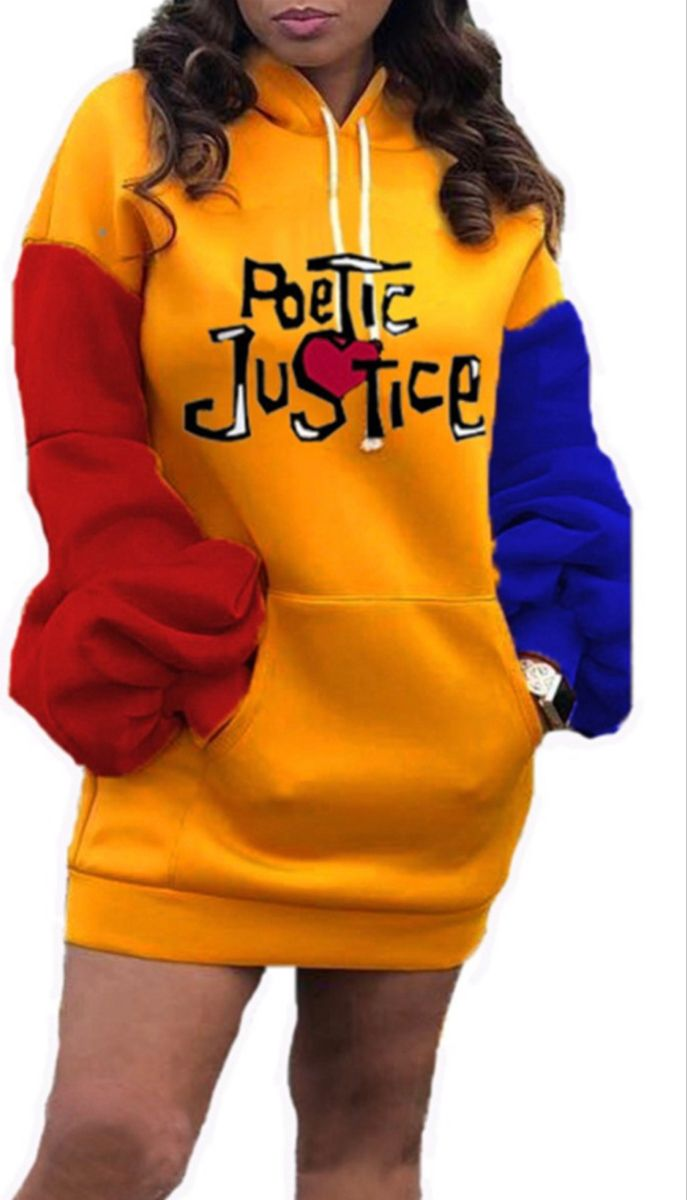 Lucky And Justice Hoodie Dress Girls Jeans Hoodies