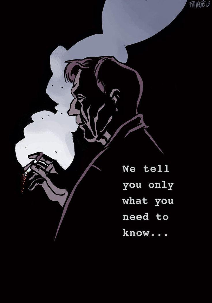 Cigarette Smoking Man - The X-Files - Miklós Felvidéki