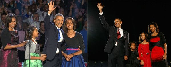Four More Years! - The First Family, Then and Now