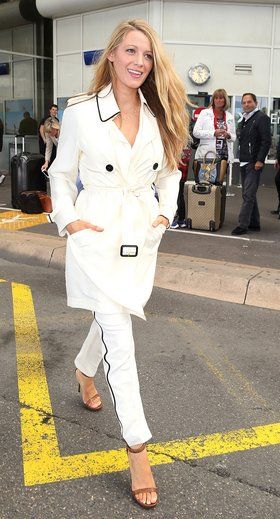 Blake Lively's Cannes Film Festival 2016 Arrival Look - Vogue
