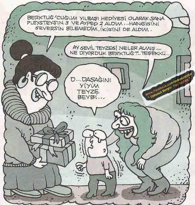 karikatürler..