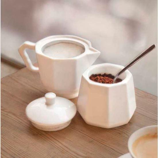 Moka Coffee śliczny pojemnik na cukier i kawę!