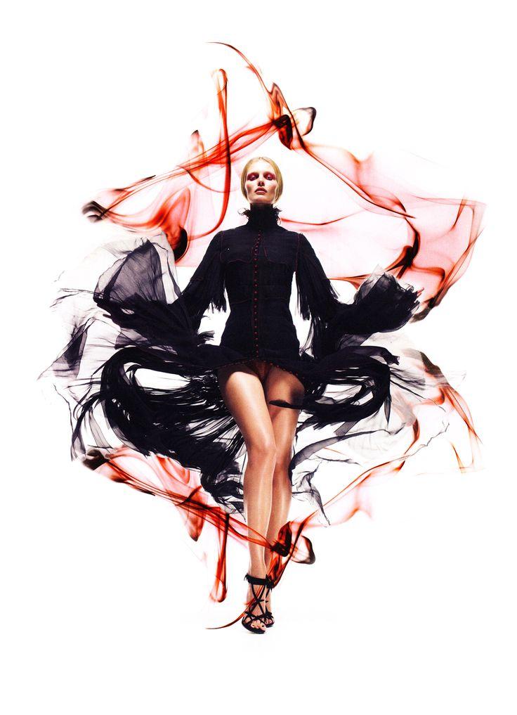 The Everlasting Soul - Edita Vilkeviciute by Sølve Sundsbø for Vogue China