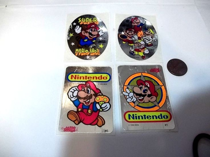 Old 1990's Super Mario Flashy Silver Stickers! #stickers #nintendo #supermariobros #supermario #mario #nes #retrograming #gamecollect #1990s #videogame #game #collection