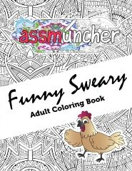 Swear Word Adult Coloring Book Stress Relief Feat Sweary