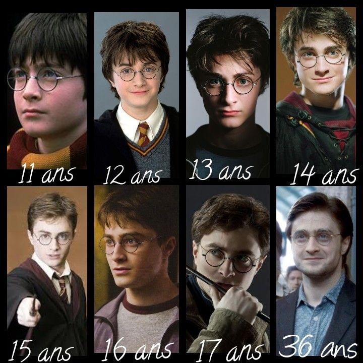 L'évolution d'Harry Potter
