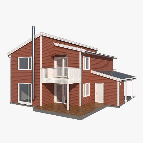 3D Model Realistic House Splitt Nb - 3D Model