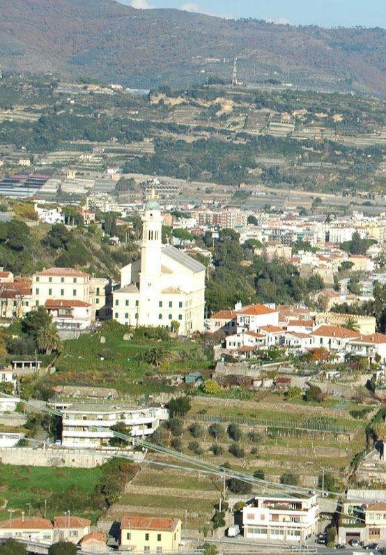 Sanremo (IM) Bussana Nuova  Santuario del Sacro Cuore di Gesù