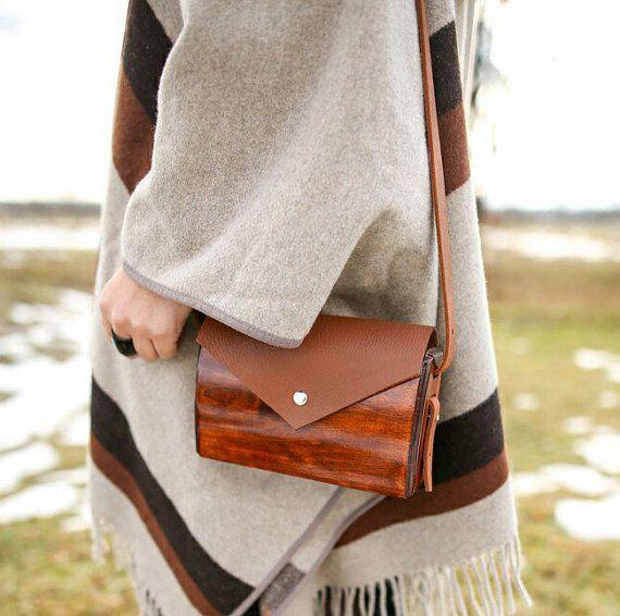 Purse Bag Handbag Wood bag Hand bag Wood purse Tote Shoulder bag Clutch Gift Lady gift Woman gift Girlfriend gift Wife gift Valentines gift