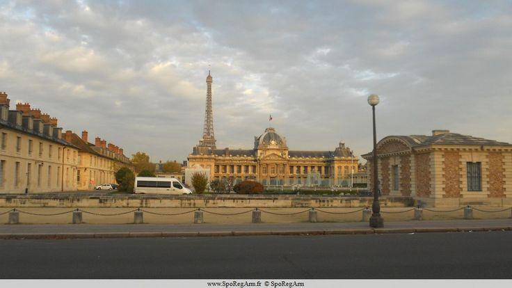 École militaire - Paris - Histoire de École militaire, plan, situation, photo et tourisme - SpoRegArm