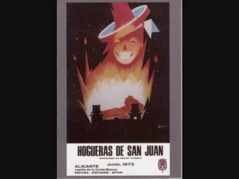 Cartel de Hogueras 1928-2010. Himno de Alicante y de las Hogueras de San Juan... HIMNO DE ALICANTE: https://lamillorterradelmon.com/2013/12/08/himno-de-alicante/ HIMNO DE LAS HOGUERAS DE SAN JUAN: http://wircky.com/himno-oficial-de-las-hogueras-de-san-juan/