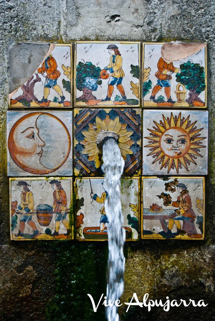 Fuente de la Gaseosa, en Ferreirola. Una de muchas en La Alpujarra con propiedades curativas. Vive Alpujarra
