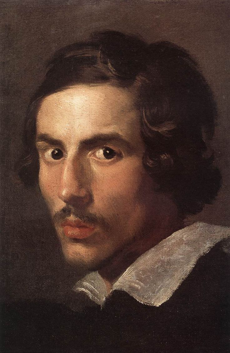 Painted in 1623, this self-portrait by Bernini, age 25 is one of the few paintings done by Bernini who became famous for his mastery of sculpture. For more on Bernini, visit us at community.artauthority.net