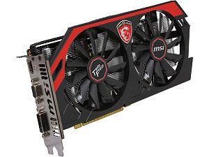 MSI GAMING N750Ti TF 2GD5/OC GeForce GTX 750 Ti 2GB 128-Bit GDDR5 PCI Express 3.0 x16 HDCP Ready Video Card
