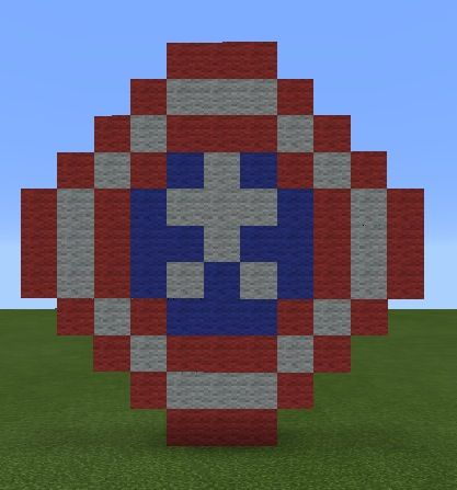 Minecraft How To Build Shield