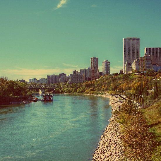 River Valley, Edmonton, Alberta Canada