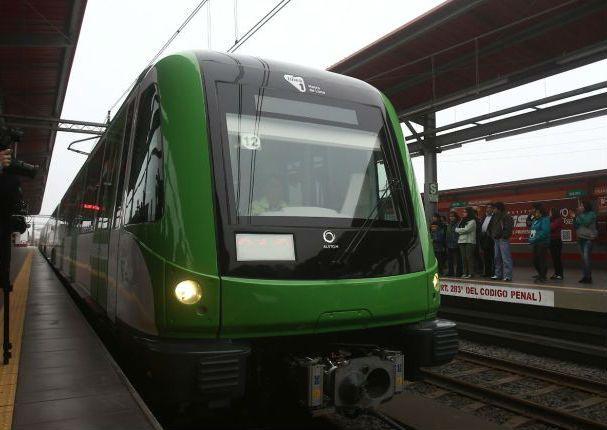 Se presenta nuevo tren de la linea 1 del Metro de Lima - Radio Panamericana