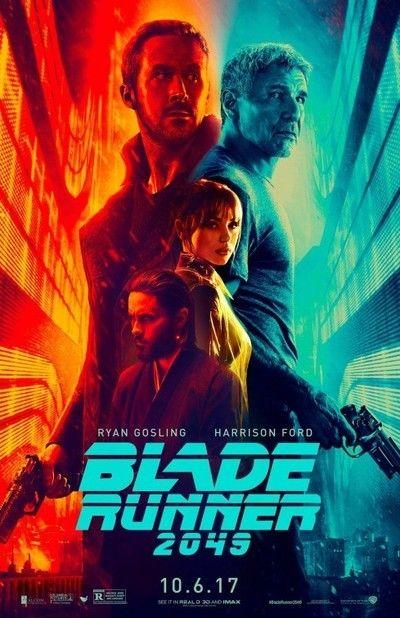 10 de octubre: Blade Runner 2049 (2017). Dir: Denis Villeneuve