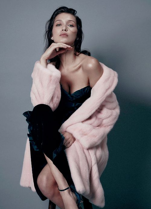Bella Hadid for Harpers Bazaar Magazine Australia August 2016, by Georges Antoni.