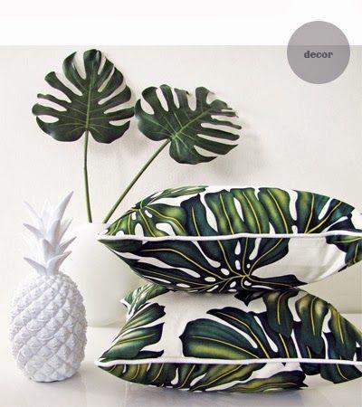 tropical decor + pineapple #CLinspirationmonday
