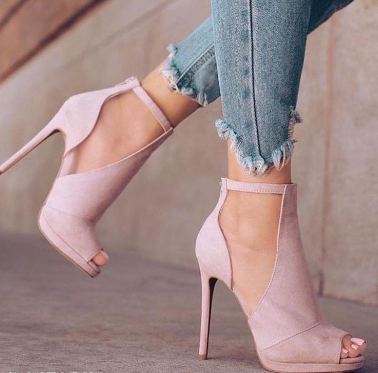 Light Pink Shoes Heels